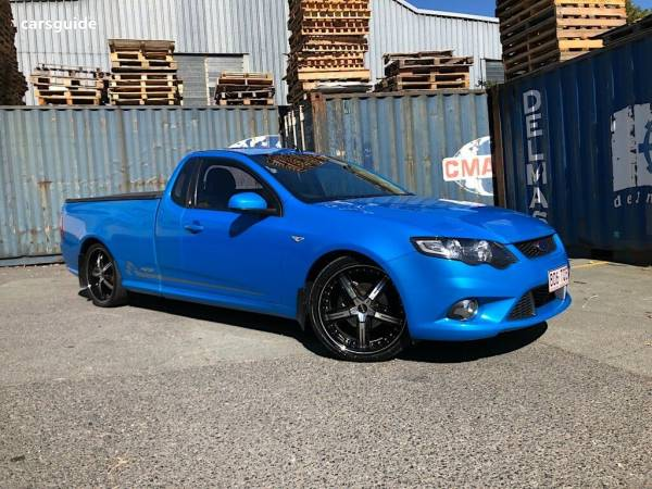 2010 ford falcon xr6 50th anniversary ute manual for sale