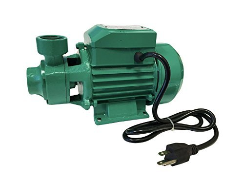 commercial electric water pump manual