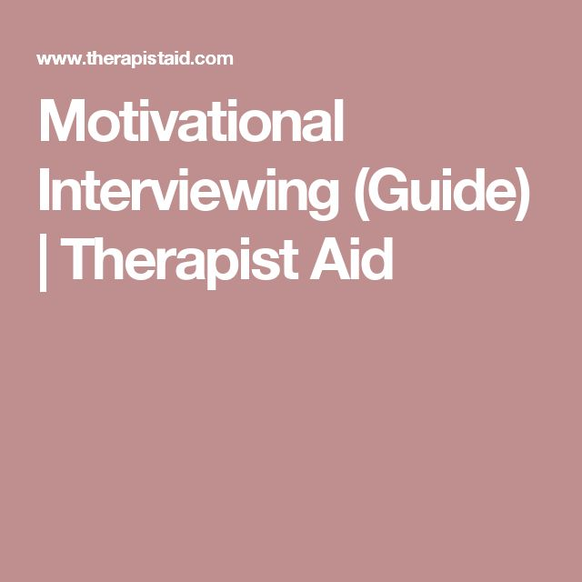 motivational interviewing drug alcohol manual